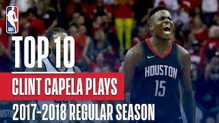 Clint Capela's Top 10 Plays of the 2017-2018 NBA Regular Season