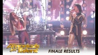 Courtney Hadwin & The Struts ROCKING Duet! | America's Got Talent 2018