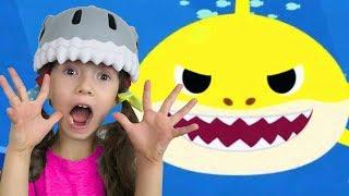 Baby Shark Dance | Animal Songs by Ulya | Sing and dance