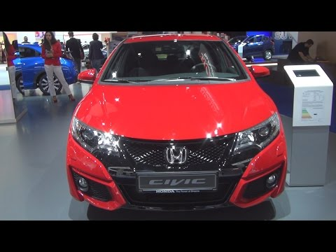 Honda Civic 1.8 i-VTEC Sport 6MT (2016) Exterior and Interior in 3D