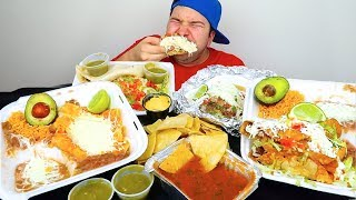 My First Time Trying Authentic Mexican Food • MUKBANG