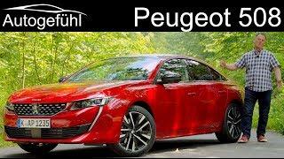 Peugeot 508 GT FULL REVIEW test all-new 2019 sedan Limousine - Autogefühl