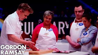 How to Cut Pork Fillet Steaks from the Loin | Gordon Ramsay