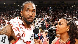 Kawhi Leonard Postgame Interview - Game 7 | 76ers vs Raptors | 2019 NBA Playoffs