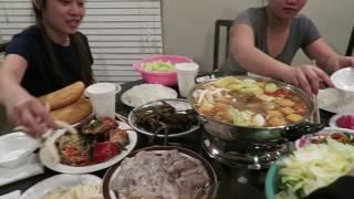 Ăn Lẩu Hải Sản Tôm hùm cá tươi cùng đại gia đình ở mỹ