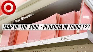 😨 An ALMOST FAILED Hunt for BTS 방탄소년단 Persona Albums at Target