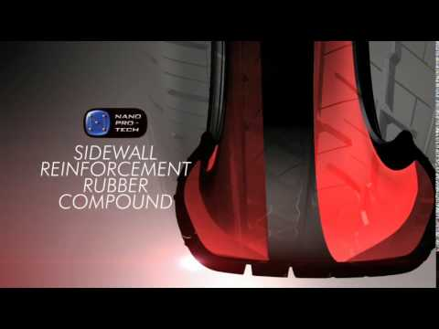 Bridgestone DriveGuard Run-Flat Animation