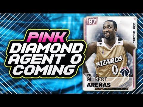 Pink Diamond Gilbert Arenas Coming Tomorrow In Nba 2k19 Myteam Did 2k Confirm It Xem Video Clip Hot Nhất 2017