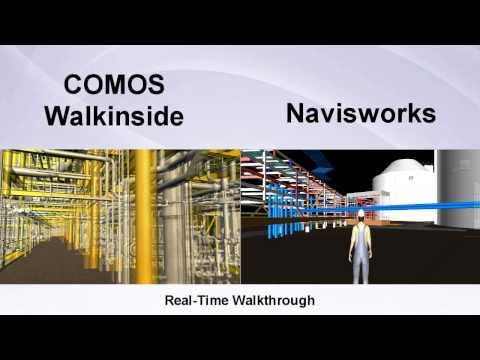 COMOS Walkinside vs Naviswork