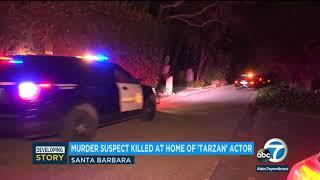 Woman killed, suspect dead at Santa Barbara home belonging to 'Tarzan' actor Ron Ely | ABC7