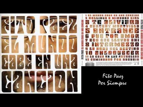 Fito Paez- El Mundo Cabe en Una Canción- Álbum Disco Completo-