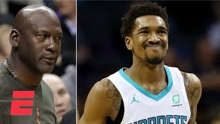 What's up with Michael Jordan slapping Malik Monk on Hornets' bench? | ESPN Voices