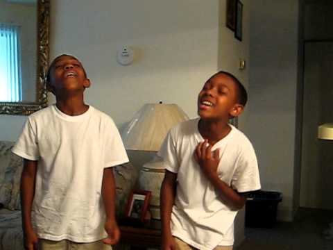 Darius And Demetrice Sing I Love You Lord Youtube