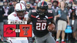 Lamar vs Texas Tech Football Highlights (2018) | Stadium