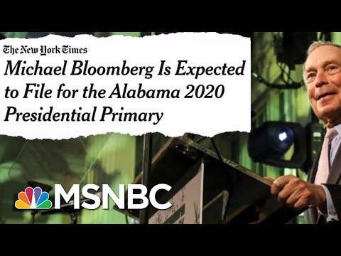 Michael Bloomberg Considering 2020 Run As Dem | The Beat With Ari Melber | MSNBC