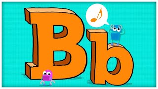 The letter B Preschool , Learn Words with Toys & Colors ABC || How To Write B ?