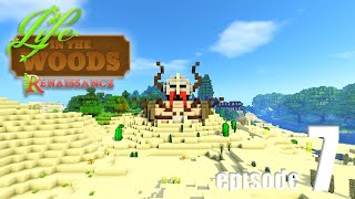 Life In The Woods (A Minecraft Adventure) - EP07 - A Very Strange Place!