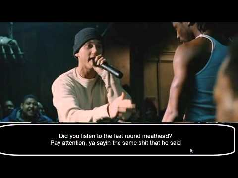 eminem 8 mile 3 last battles (with subs)