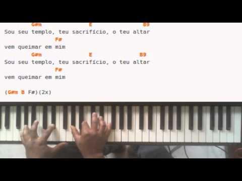 Baixar Fernandinho-Caia fogo Video-Aula Teclado