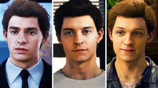 Tobey Maguire, Tom Holland And Andrew Garfield in Marvel's Spider-Man [DeepFake]