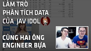 Phân tích dữ liệu ngành JAV - Những điều ít người biết về các JAV Idol [Code Cùng Code Dạo]