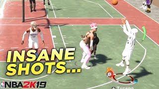 i've been making INSANE shots in NBA2K19...