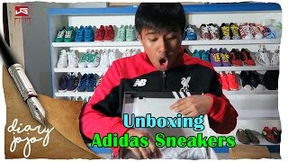 Unboxing Adidas Sneakers