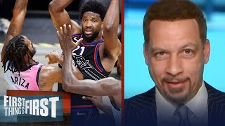 76ers could struggle against Heat in a 2nd round matchup — Broussard | NBA | FIRST THINGS FIRST