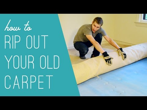 How To Rip Out An Old Carpet