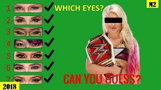 Can You Guess Which WWE DIVAS EYES? [HD]