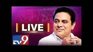 KTR LIVE || Sabitha Indra Reddy Son Karthik Reddy Joins TRS  - TV9