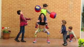 Extremely Talented Strong Moms | People Are Awesome