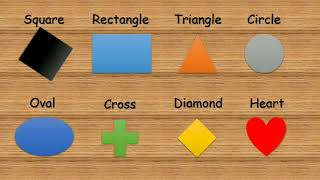 Learn shapes - Preschool learning of basic shapes