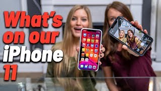 What's On Our iPhone 11!
