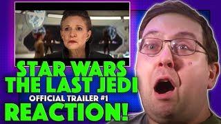 REACTION! Star Wars: The Last Jedi Trailer #1 - Daisy Ridley Movie 2017