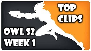 Overwatch League S2 Wk1 Top Moments