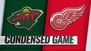02/22/19 Condensed Game: Wild @ Red Wings