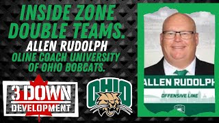 Coaching Inside Zone  Clinic Part 1: Featuring Ohio Bobcats OLINE Coach Allen Rudolph.
