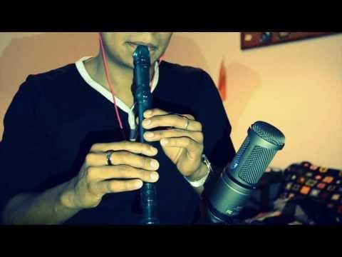 Sumérgeme Jesus Adrian Romero en flauta dulce