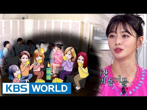 HELLO VENUS Nara had fire on her hair while eating chicken?! [Happy Together / 2017.03.23]