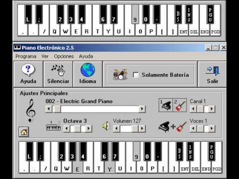 Persiana Americana Agapornis piano electrico 2.5