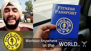 How to get Golds Gym Travel Pass🏋️♂️