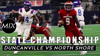 North Shore vs Duncanville 🏆Texas High School Football State Championship | The Rematch