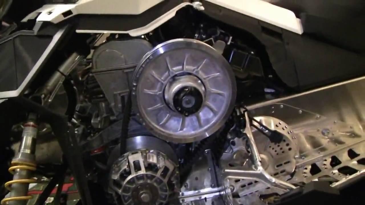 2011 Brp Ski Doo Rotax Ace 600 4 Stroke Engine Youtube