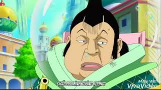 Luffy,Zoro cực mạnh khi đụng độ Thiên Long Nhân