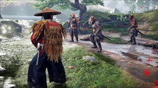 Ghost of Tsushima - Brutal Combat, Stealth & Free Roam Gameplay