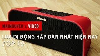 Top 10 loa di động công nghệ hấp dẫn nhất hiện nay - www.mainguyen.vn