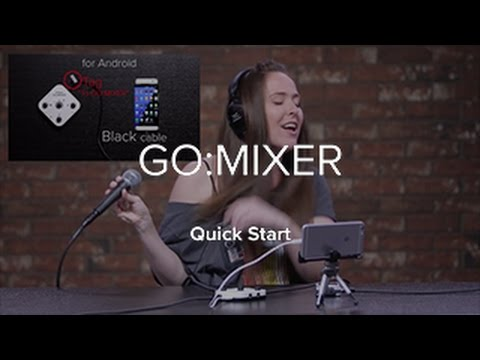Roland GO:MIXER Audio Mixer for Android, Apple IOS Smartphones