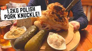 POLISH FOOD in Krakow, Poland | Krakow's first ever fast food + traditional Polish MILK BAR
