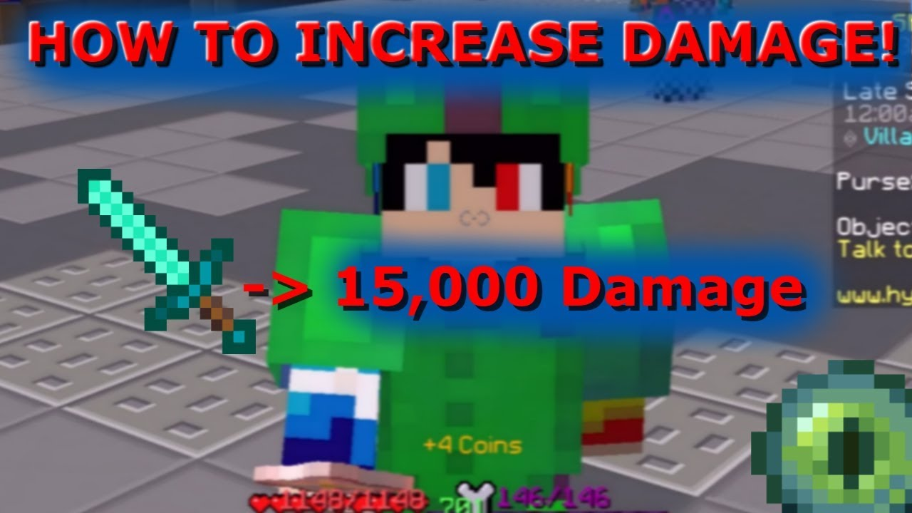 HOW TO INCREASE DAMAGE! (One Shot Zealots) - Hypixel Skyblock